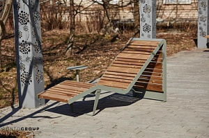 Bench «Infinity wood» (Sun lounger)